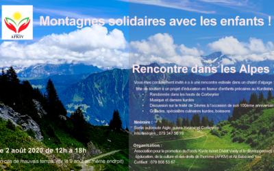 Rencontre dans les Alpes 2020