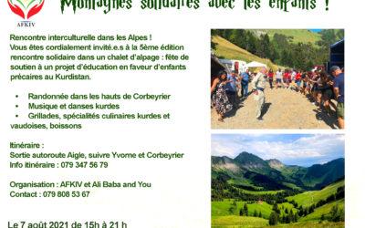 Rencontre interculturelle dans les Alpes 2021